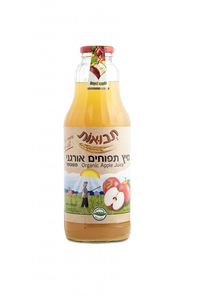 תבואות - מיץ תפוחים אורגני. צילום - אייל גרניט