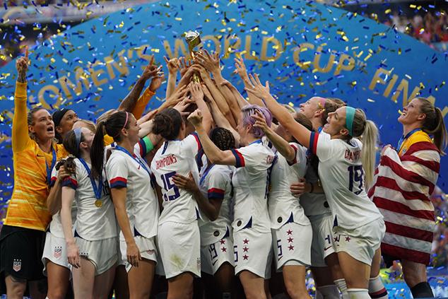 """נבחרת ארה""""ב מנצחת במונדיאל הנשים (צילום: Daniela Porcelli/Getty Images)"""