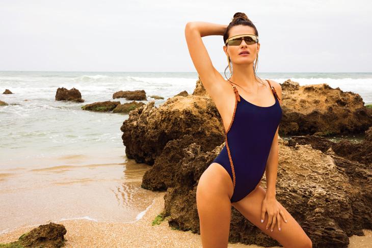 Isabeli Fontana Stars in Gottex Swim SS20 Campaign