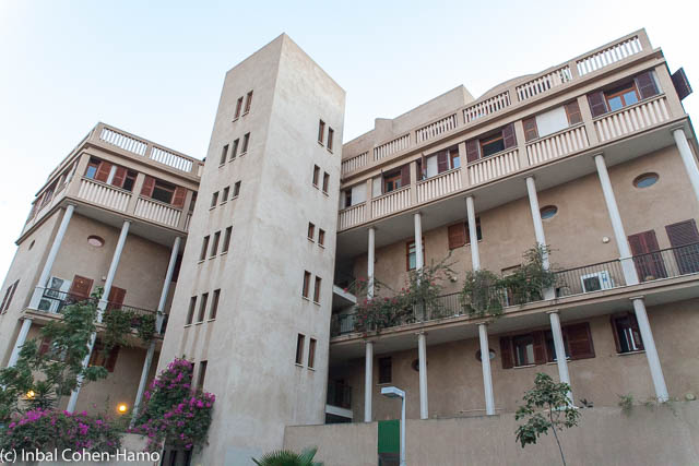 בניין בקצה רח' רבי חנינא