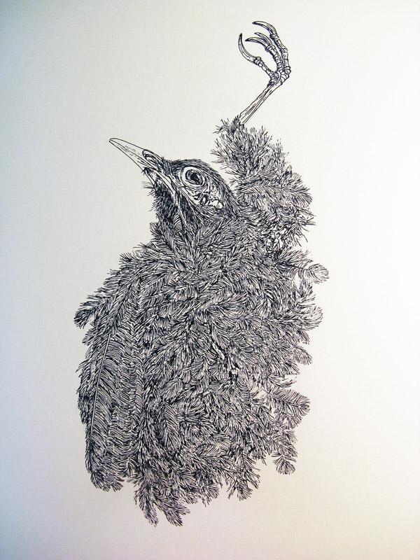 """יבגניה נוביקובה, """"ללא כותרת"""", 2017"""