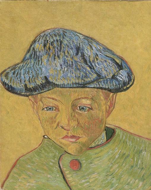 וינסנט ואן גוך, דיוקן קאמי רולאן, 1888