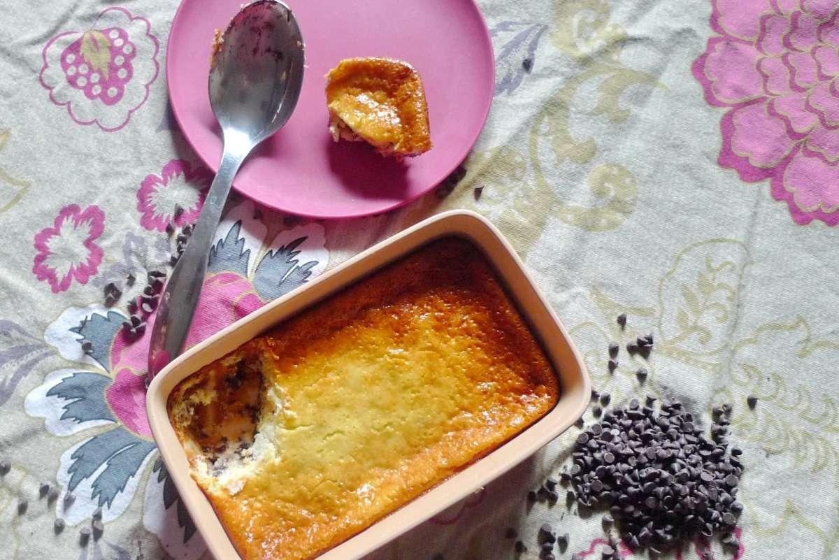 עוגת גבינה חמימה עם שוקולד עדי קאופמן הבלבוסטע במטבח