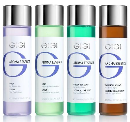 סדרת סבונים ייחודיים לניקוי, רענון וחידוש עור הפנים המתאימה לכל סוגי העור AROMA ESSENCE - GIGI 84 שח מוטי פישביין
