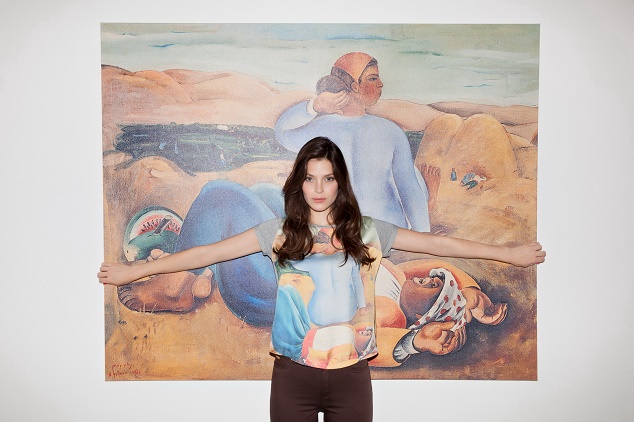 קסטרו ומוזיאון תל אביב פרוייקט T ART נחום גוטמן מנוחת צהרים צילום דודי חסון _1