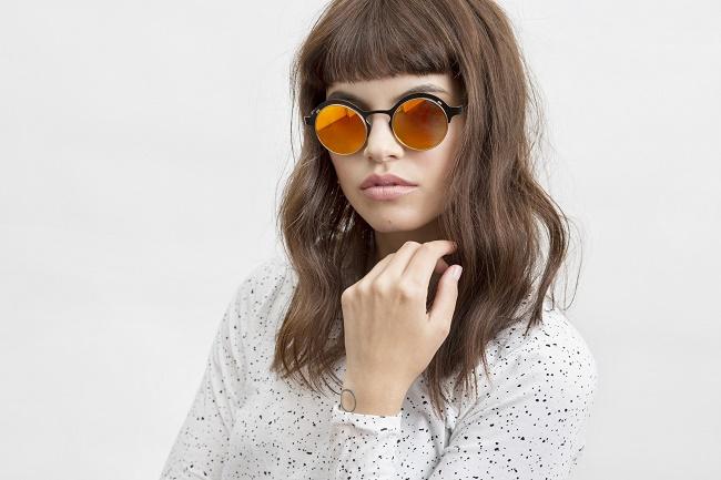 פרינס משקפיים עדשות מראה מסגרת עגולה 700שח צילום דנה קרן