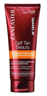 Lancaster self tan beauty IN SHOWER TANNING LOTION מחיר 99 שח ל200 מל צילום חול  - Copy.jpg
