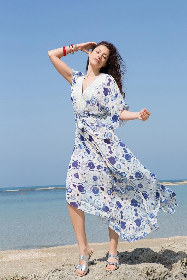 קולקציית קפסולה שירלי בוגנים לרשת האופנה דיסקרט שמלה מחיר 499.90 שח צילום גיא כושי ויריב פיין (Custom)