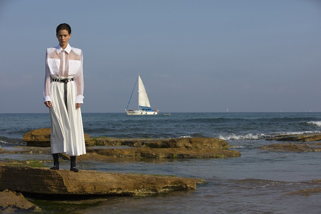 MRR ראובן כהן ומזל חסון לרונן חן צילום יניב אדרי מחיר חולצה 690 שח מחיר חצאית 590 שח (1)