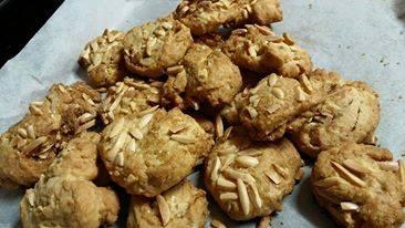 עוגיות בוטנים וחמאת בוטנים