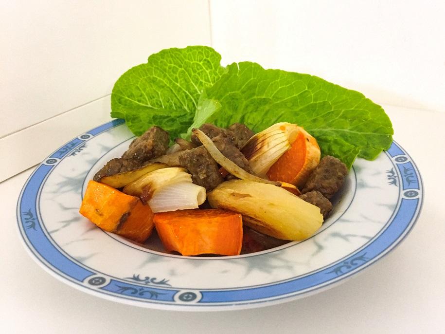 תבשיל טבעוני טבעול