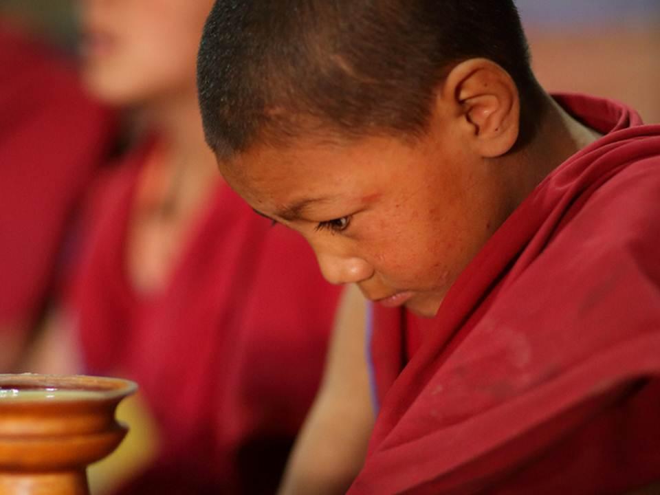 ילד נזיר