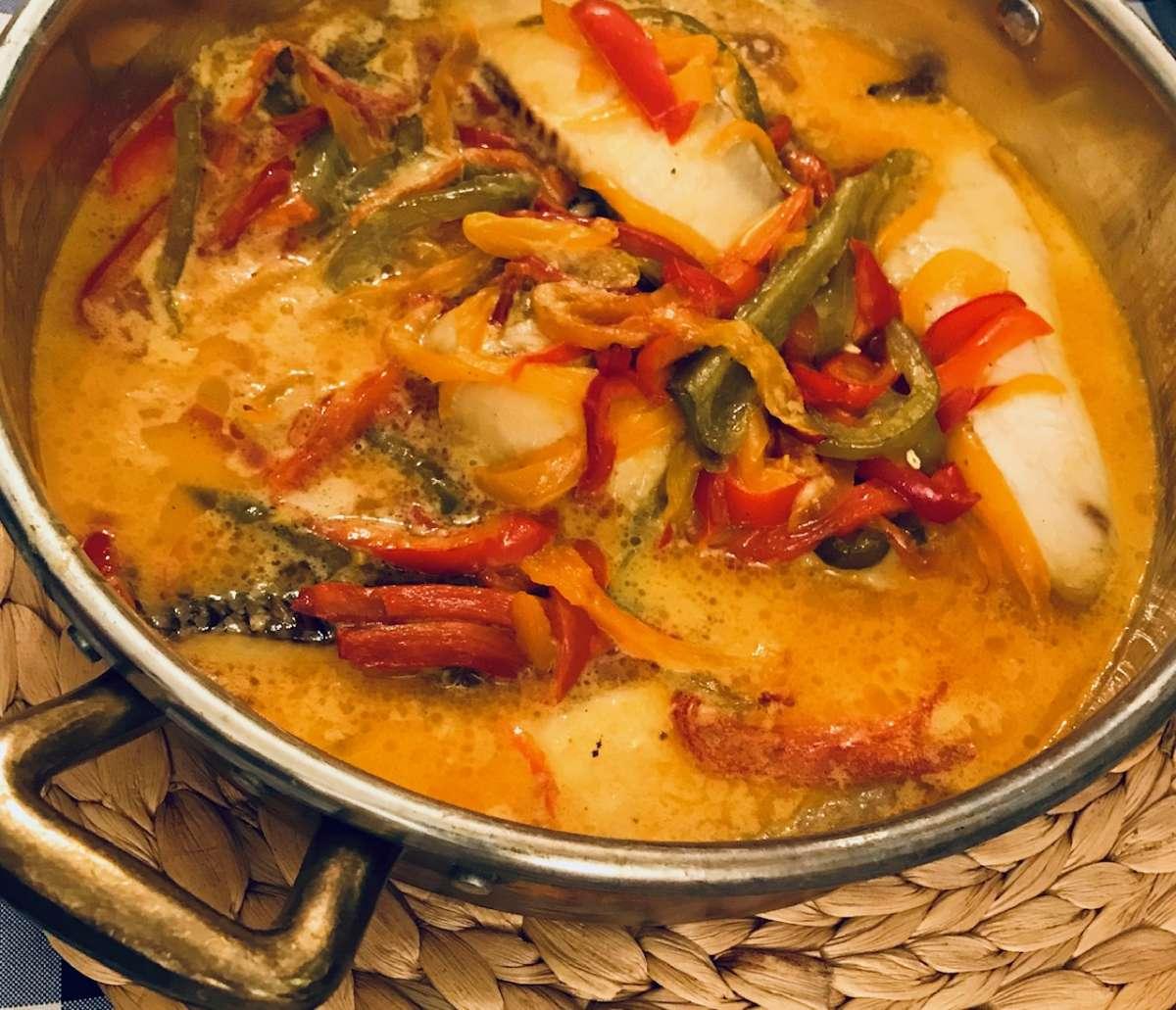דג אמנון בקוקוס ולימון או בקיצור - יאמי! / צילום: לירון פיין
