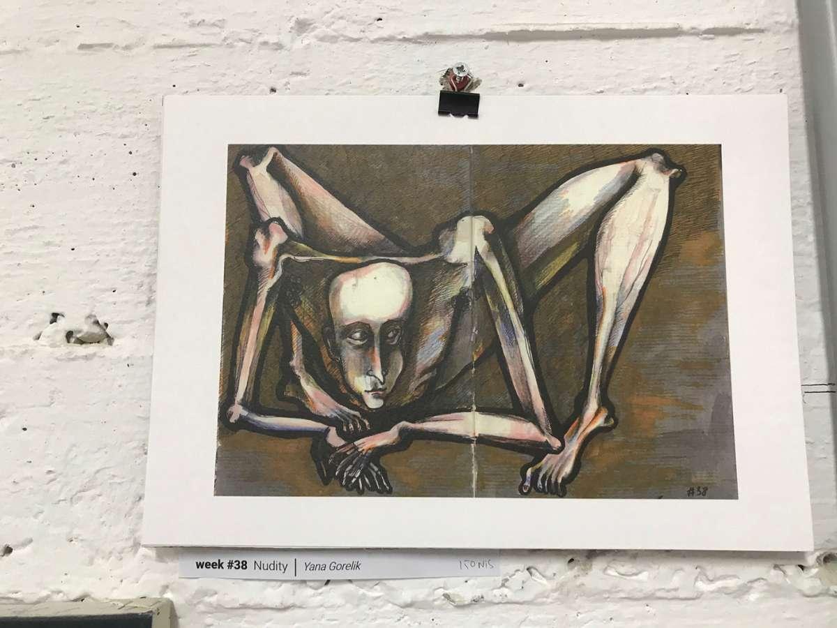 יאנה גורליק -עירום // 40weeks of us
