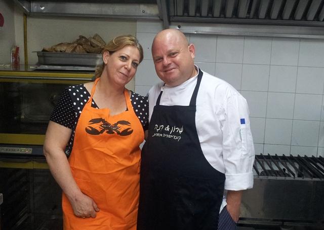 עם שף אייל לביא מרוקח 73 - הבלוג של שרון מקונדיטוריה שרון & רנה - קונדיטוריה | קייטרינג | מגשי ארוח