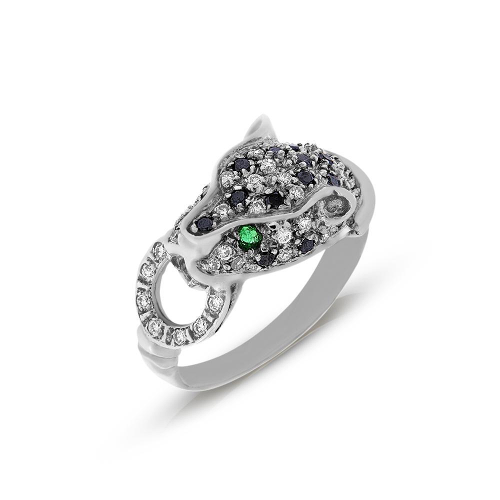 טבעת נמר Tezoro Jewelry