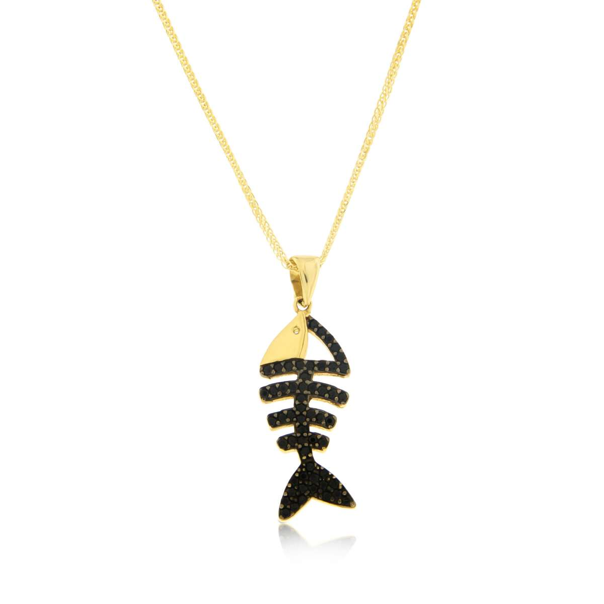 שרשרת דג Tezoro Jewelry
