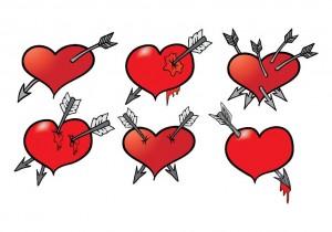 חצים בלב