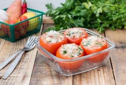 עגבניות ממולאות בסלט טונה 2