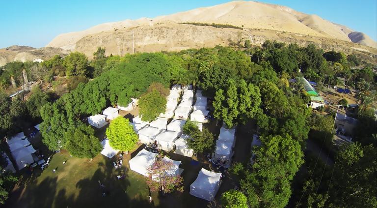כפר האוהלים בחמת גדר צ. באדיבות חמת גדר (2)