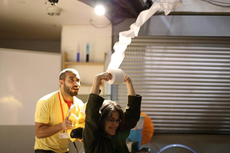 צילום עידן ועקנין - כח הרוח במוזיאון המדע בירושלים חודש נובמבר 2016