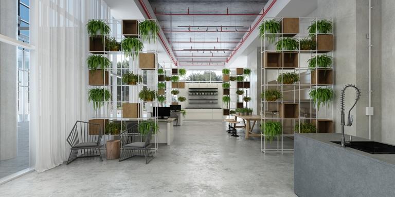 הדמיית אולם התצוגה החדש של סמגל קונספט בראשון לציון (2)