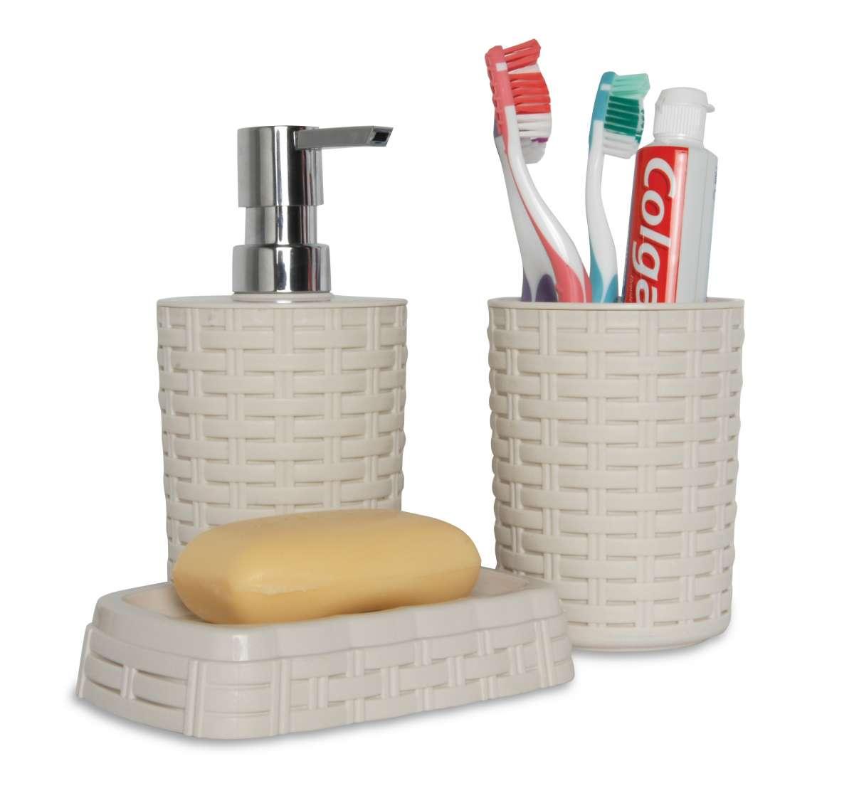 ליפסקי - אביזרים לאמבטיה בעיצוב ראטן