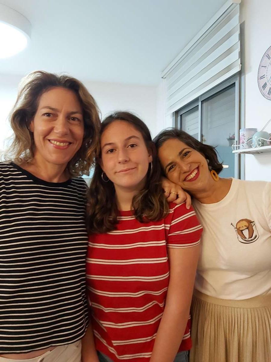 מרב אבן זהר הסטייליסטית עם הבת שלה ואיתי