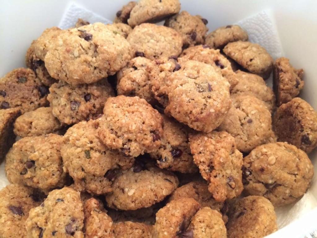 עוגיות גרנולה - מתכון לחמי 2
