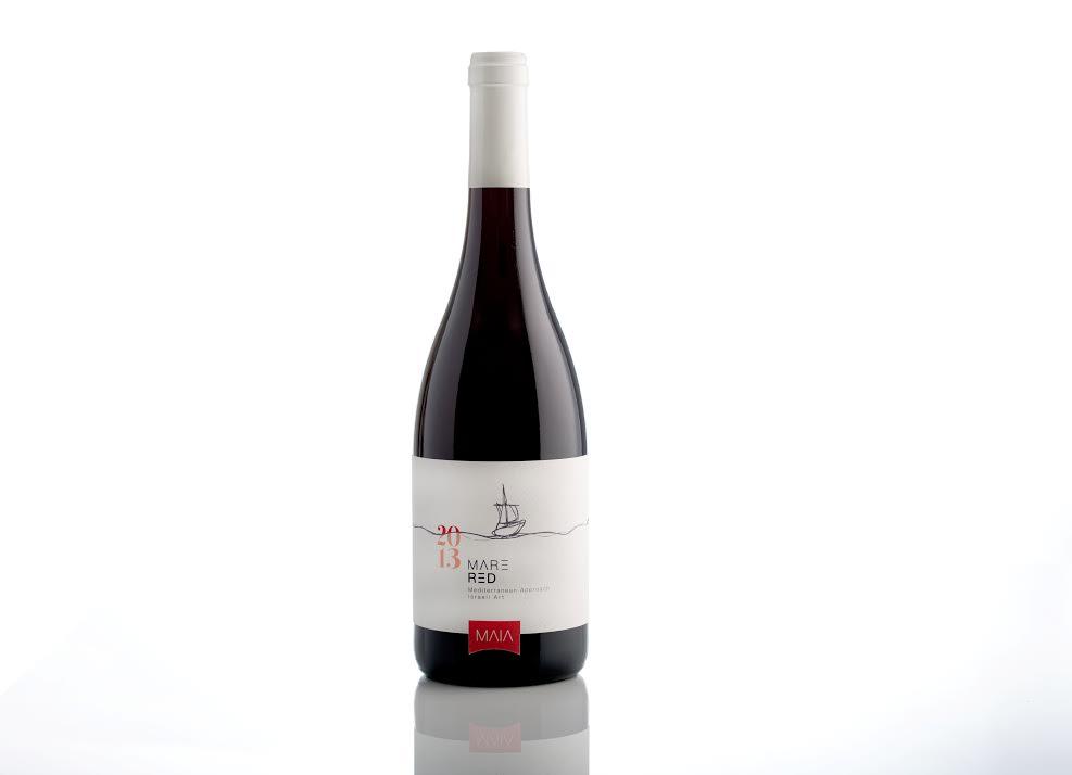 יין מאיה אדום טבעוני