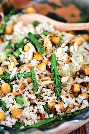 אורז עם חומוס ואספרגוס - כרמית אלקיים - ספר