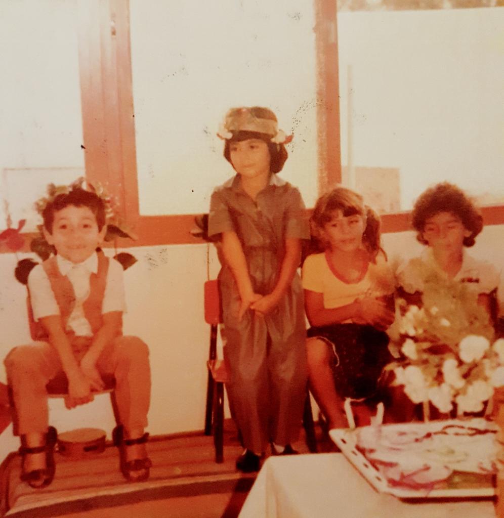 חוגגת יומולדת בגן שרון צילום: ביתי