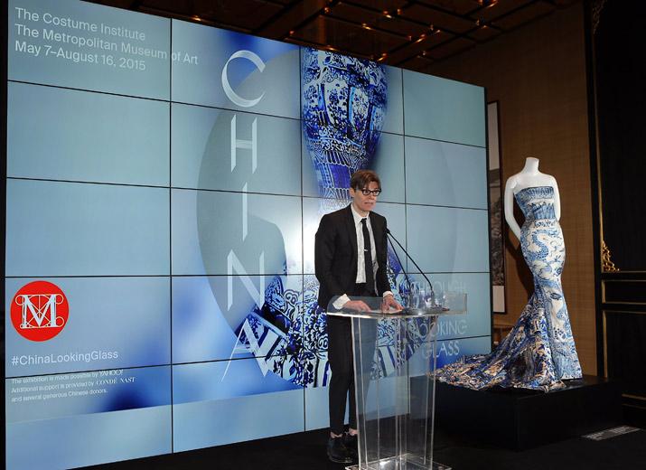 Andrew Bolton, curator, The Costume Institute