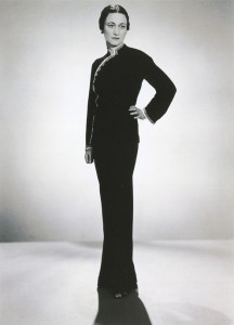 Portrait of the Duchess of Windsor