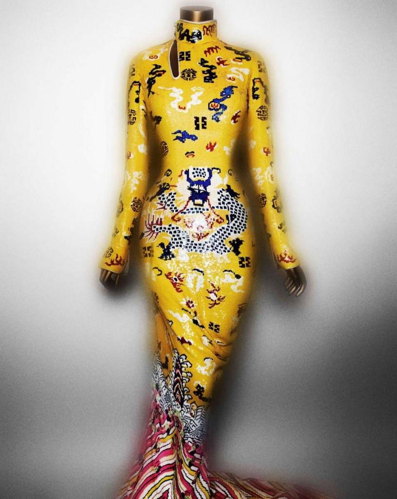 20. Evening Dress, Tom Ford for Yves Saint Laurent, Fall 2004 s