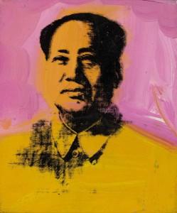 23. Mao by Andy Warhol, 1983 s