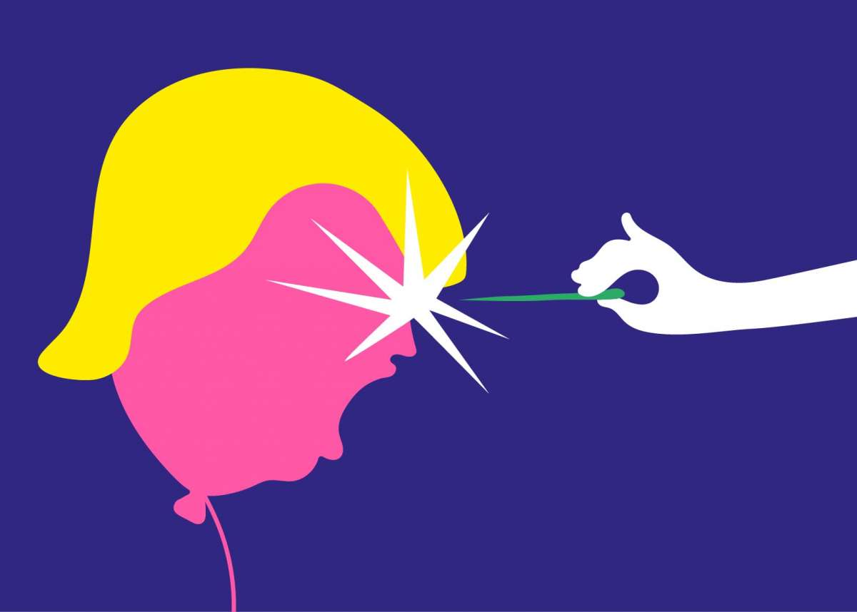 אוהבים אמנות. עושים איור. דונלד, עמרי כהן מתוך התערוכה InYourFace, דב הוז (2)