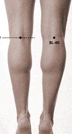 Bl40 - נקודת דיקור סיני להפחתת כאב בגב התחתון- רונן רוזנבלט-ניר - דיקור סיני בתל אביב