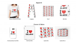 i love Tel Aviv collection