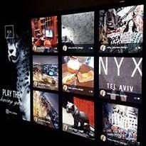 קיר גולשי האינסטגרם במלון NYX TLV