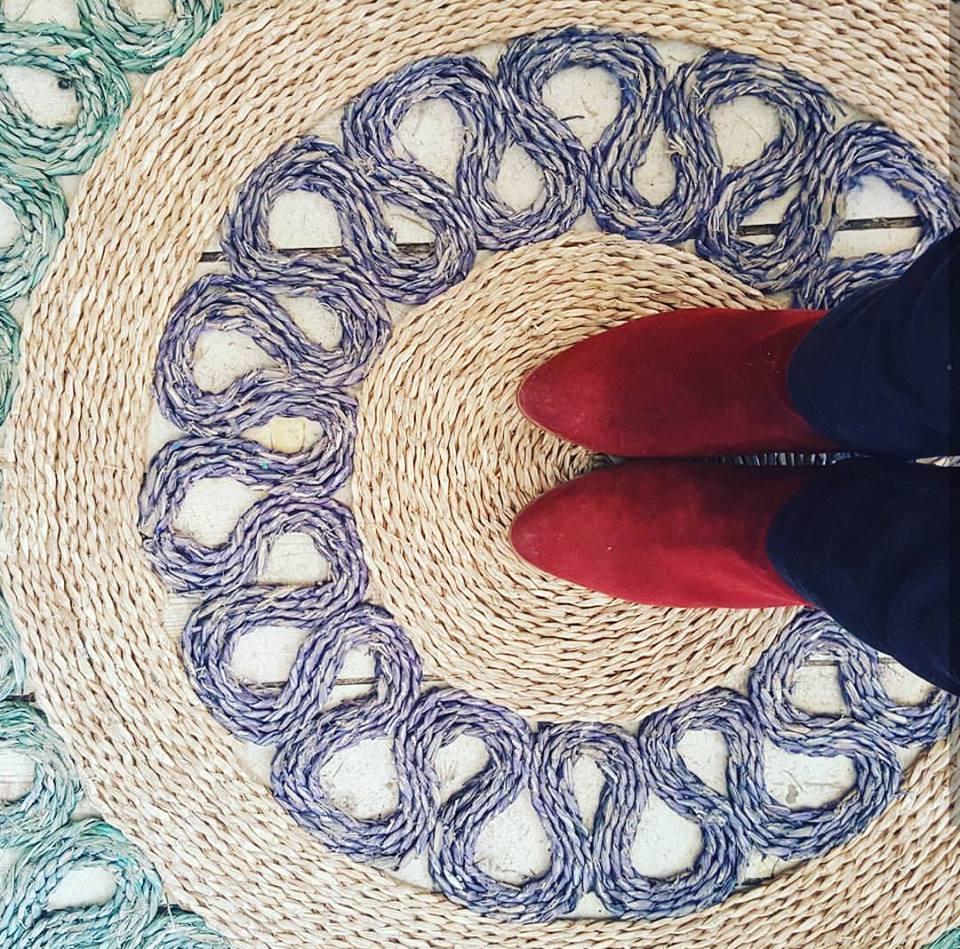 שטיחים רבותיי שטיחים... הדרך הכי מעולה לצלם שטיח. מבט ציפור