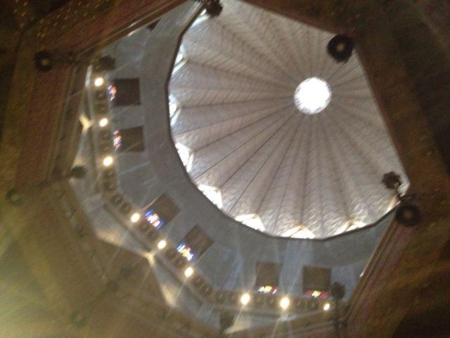 גג מעוצב כשושן צחור, סמל לטוהר ותמימות