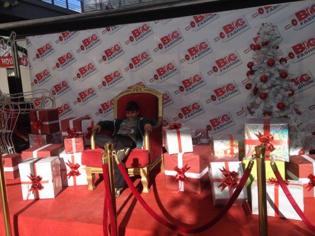 בקרוב ישב פה סנטה ויחלק מתנות לכולם