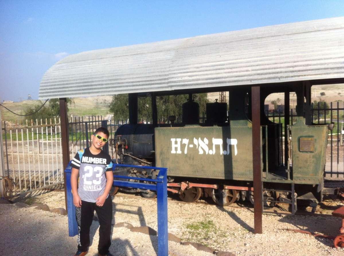 הקטר המקורי של רכבת העמק